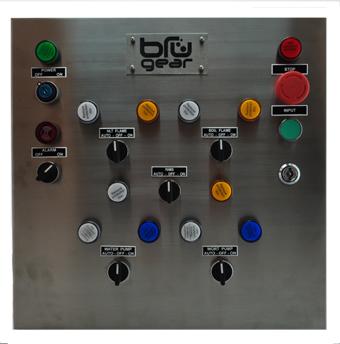 Direct Fire RIMS Control Panel Bru Gear Homebrewing