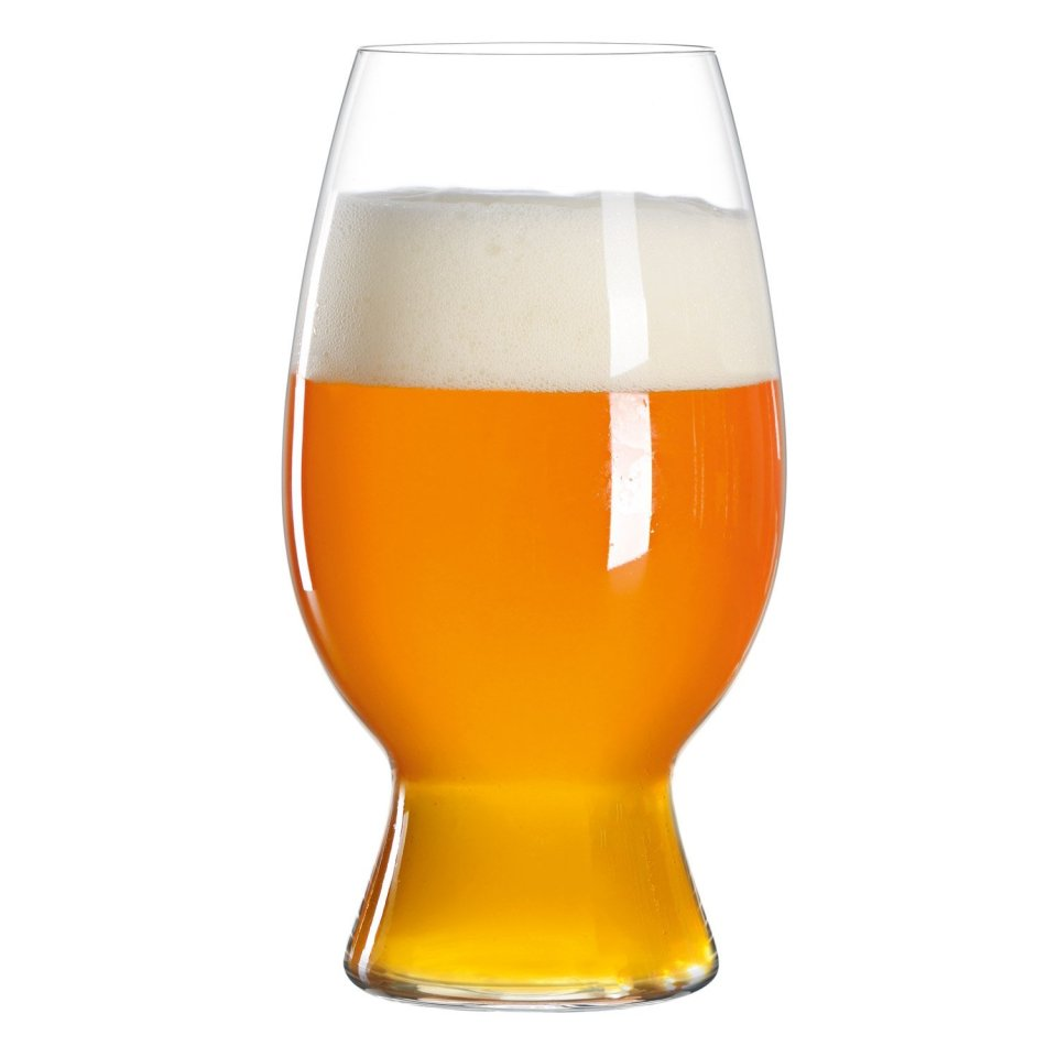 Spiegelau American Wheat-Witbier Glass - Pack of 4 - Designed with Bell's Brewery