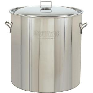 Bayou Classic Pots With Vented Lid 122 Quart Stainless Steel Stock Pot