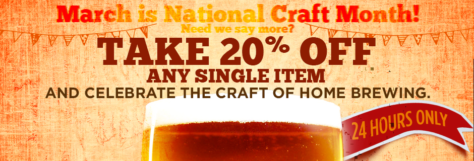 20% Off Northern Brewer Discount