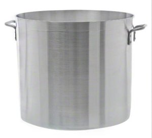 Update International APT-100HD Heavy Weight Aluminum Stock Pot, 100-Quart