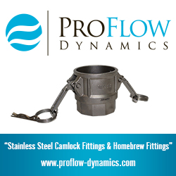 Proflow Dynamics Homebrew Stainless Quick Disconnects