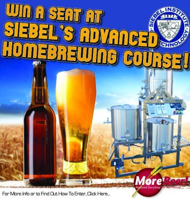 siebel advanced homebrewing course.