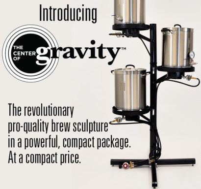 New from Northern Brewer: The Center of Gravity Brew Stand