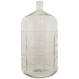 6.5 Gallon Glass Carboy With Smooth Neck FE330