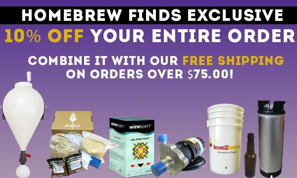 love2brew homebrew sale