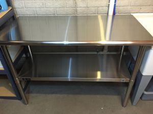 review TRINITY EcoStorage NSF Stainless Steel Tabl