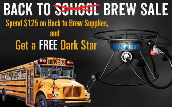 Spend $125, Get a Free Dark Star Burner
