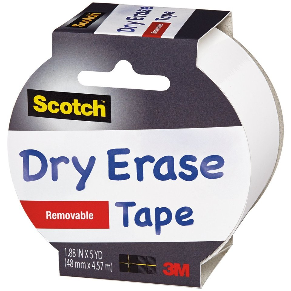 scotch dry erase tape