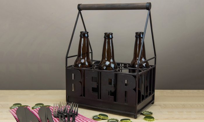 Six-Bottle Beer Caddies