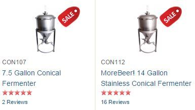 morebeer conical fermenters
