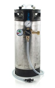 5 Gallon Low Profile Keg System w/ Picnic Tap, USED Ball Lock Keg (#1)