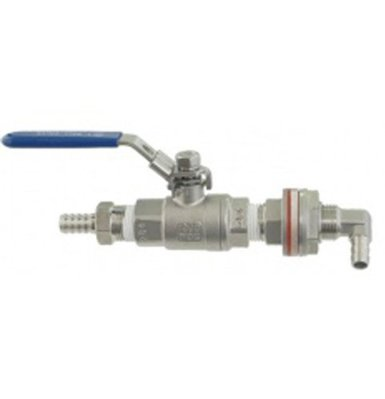 Eagle Brewing WL305 Stainless Steel Weldless Whirlpool Arm