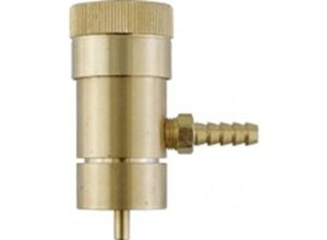 Eagle Brewing FE378 Oxygen Regulator for Disposable Tanks with Barb