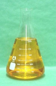 SEOH 2L Narrow Mouth Erlenmeyer Flask with Heavy Duty Rim 1/pk