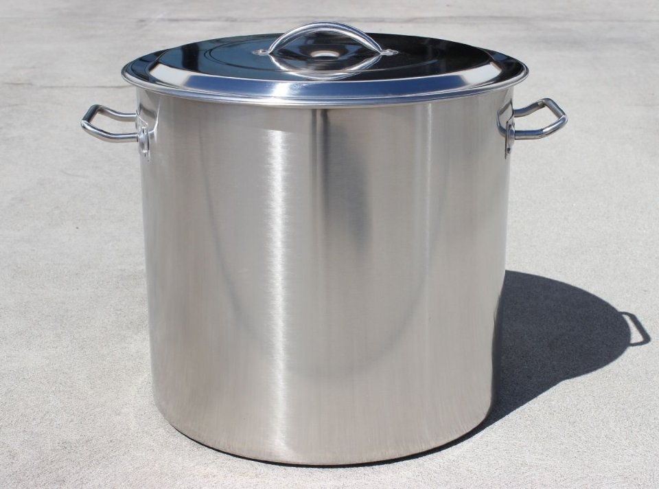 Concord Home Brew Stainless Steel Stock Pot Kettle (60 Quart)