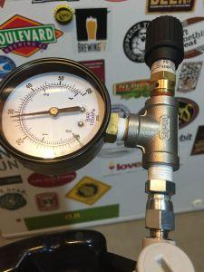 spunding valve build