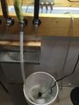 recirculating draft line cleaner