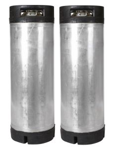 2 Pack - 5 Gallon Ball Lock Kegs Reconditioned FREE SHIPPING Great for Homebrew!