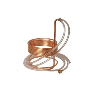 25 x 3//8 Eagle Brewing WC111 Stainless Steel Wort Chiller with Tubing
