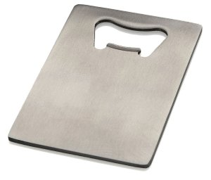 Credit Card Bottle Opener for Your Wallet - Stainless Steel