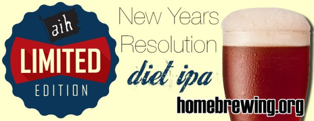 New Years Resolution Diet IPA All Grain Kit
