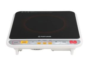 Tatung TIH-F1500HU 1500 Watts Induction Cooktop with Stainless Steel Pot