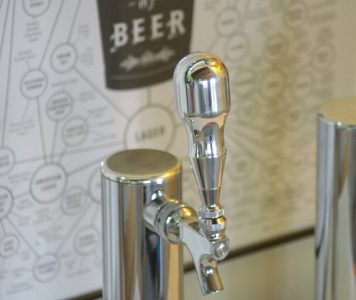"""NEW! CHROME POLISHED HEAVY WEIGHT BEER TAP HANDLE """"THE KNOB"""" by Beer Peripherals"""