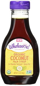 Wholesome Sweeteners Organic Syrup, Coconut Palm, 12 Ounce