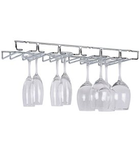 Organize It All Large Chrome Stemware Holder (1876)