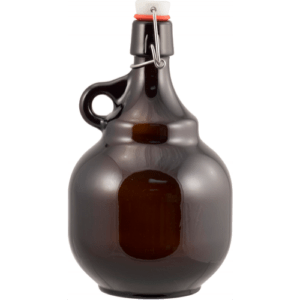 Amber Flip Top Palla Growler - 2 L