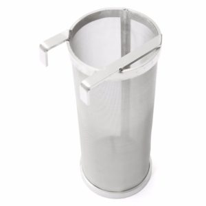Beer Dry Hopper Filter,Stainless Steel Hop Strainer Micron Mesh Beer Filter Cartridge (4 x 10 inch)