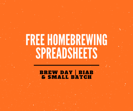 homebrewing spreadsheets