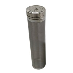 Beer Dry Hopper Filter,Stainless Steel Hop Strainer Micron Mesh Beer Filter Cartridge (2.8 x 11 inch)