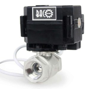 "Baco engineering 1/2"" DC12V SS304 Motorized Valve,Electrical Ball Valve CR-02"