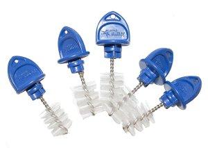 5 pack Beer faucet plug/brush