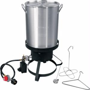Cajun Injector 30-qt. Propane Turkey Fryer