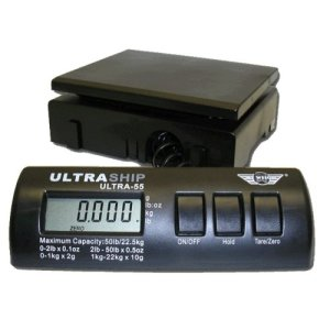 UltraShip 55 lb. Digital Postal Shipping & Kitchen Scale
