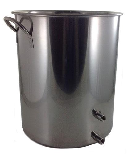 15 Gallon 2 Weld Volume Marked Brew Pot