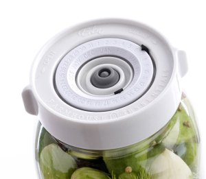 Save Time with the Easy Wide-Mouth Fermenting Kit. Accurately Tracks Start Time 3 Waterless Airlock Fermenter Lids, Pump, User Guide. Ferment Sauerkraut, Pickles and More Fermented Probiotics. No Mold
