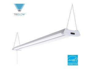 TriGlow T83901 40-Watt LED 4' Linkable Shop Light