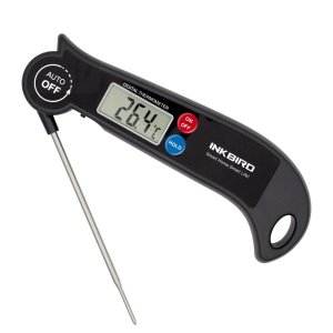 Roll over image to zoom in Inkbird Digital Fast Read Food Cooking Thermometer for Meat Kitchen Grill Smoker Milk BBQ Thermometer