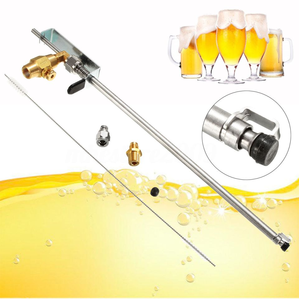 Stainless Beer Gun Homebrew Kegging CO2 Bottle Filler