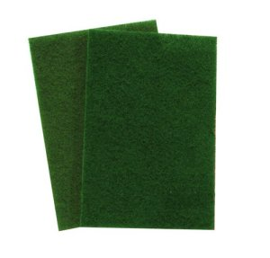 3M 08293 Scotch-Brite General Purpose Scouring Pad, Green, 20-Pack
