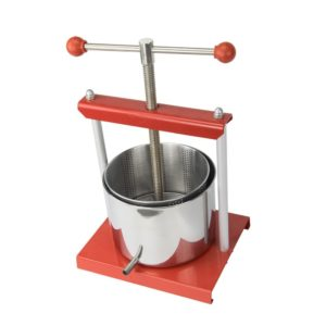 EJWOX Stainless Steel Wine or Soft Fruit Press