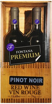 Pinot Noir Fontana Wine Making Kit Premium 23 Liters