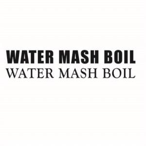"VINYL VESSEL DECALS ""WATER, MASH, BOIL"""