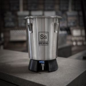 SS Brewing Tech 3.5 Gallon Mini Brew Bucket Mini Stainless Fermenter Beer Wine