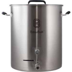 BrewBuilt™ 10-50 Gallon Brewing Kettle - Free Shipping Stainless Steel Beer Pot