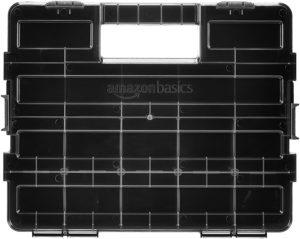 AmazonBasics Tool and Small Parts Organizer - Adjustable Compartments